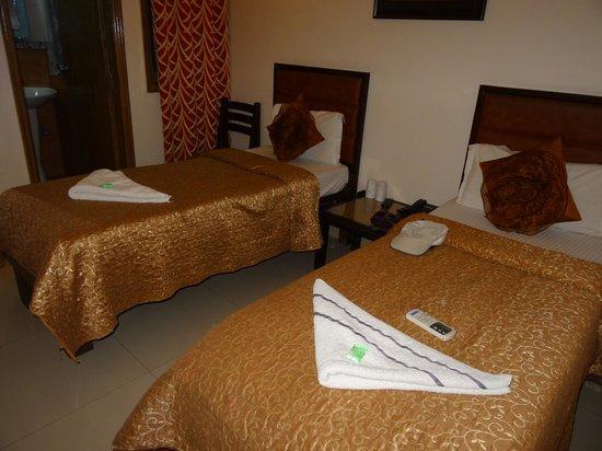 EuroStar International: Deluxe Room - спальная