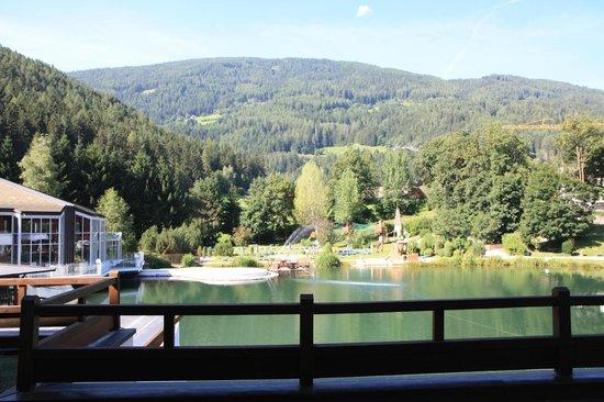 Falkensteiner Family Hotel Lido Ehrenburgerhof: Aussicht vom Balkon / Terrasse