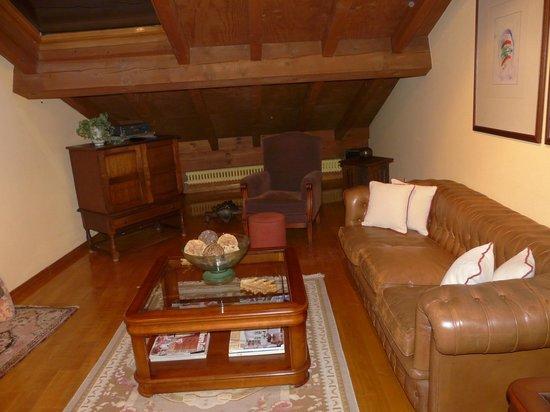 Casa Grande do Bachao: otra vista del salón de la suite