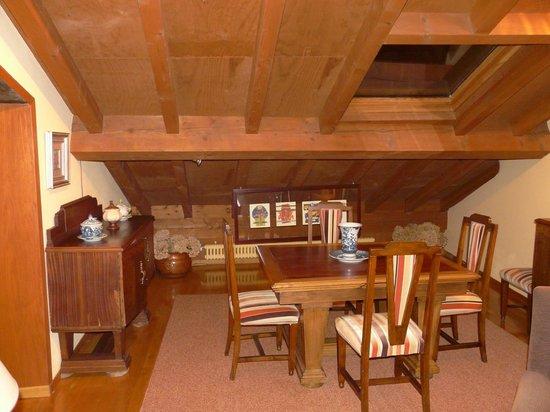 Casa Grande do Bachao: detalles del salón de la suite