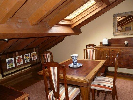Casa Grande do Bachao: área de salón de la suite