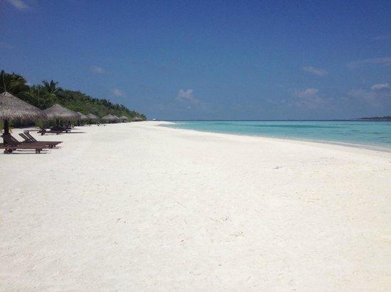 KIHAAD Maldives: Pristine Beach.
