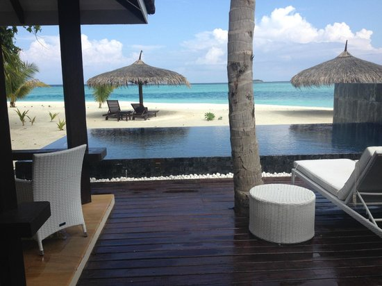 KIHAAD Maldives: The gorgeous 2 bedroom room.. Absolutely beautiful.
