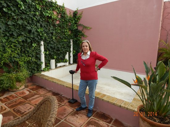 Apartamentos Murillo: Patio interior del Hotel