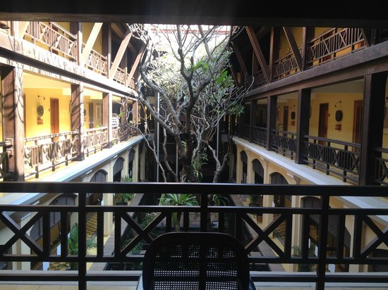 Victoria Angkor Resort & Spa : Internal courtyard