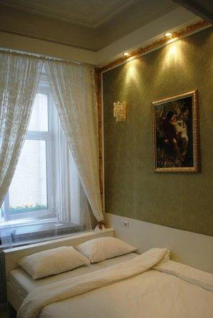 Bulgakov Hostel: Стандартный двухместный номер с двуспальной кроватью