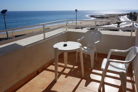 Sol Lanzarote All Inclusive : Terraza con vista
