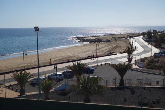 Sol Lanzarote All Inclusive: Vista desde la terraza