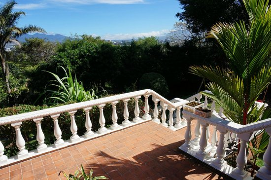 Posada El Quijote: Utsikt fra terrasse forside
