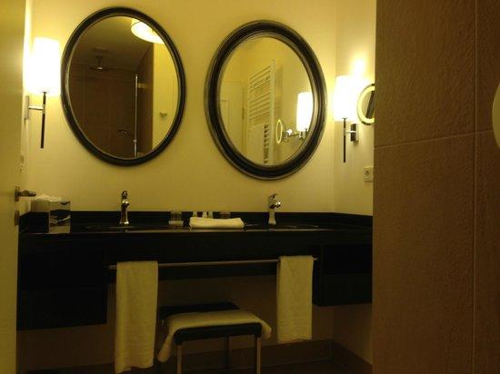 Upstalsboom Hotelresidenz & SPA Kuhlungsborn : Badezimmer