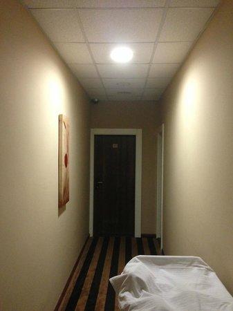 Balkan Hotel Garni: entrance in our room