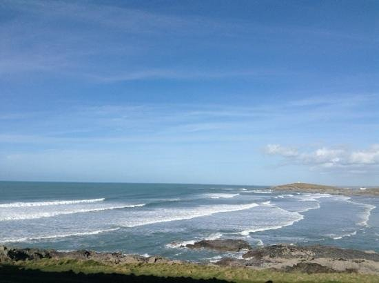 Fistral Beach Hotel and Spa : Beautiful view from our room!