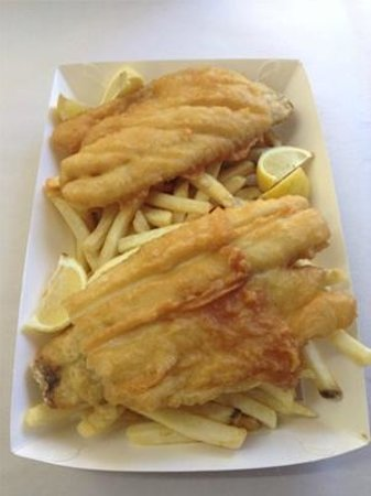 Tasty chips, fabulous fish at Red Emperor