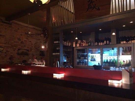 Kura Japanese Sake Bar: the bar