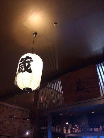 Kura Japanese Sake Bar: lantern