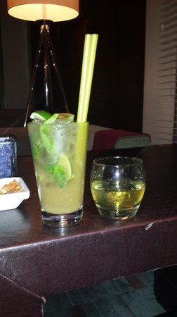 Radisson Blu Bosphorus Hotel, Istanbul: Ginger Mojito - Well made and Tasty at the Bar