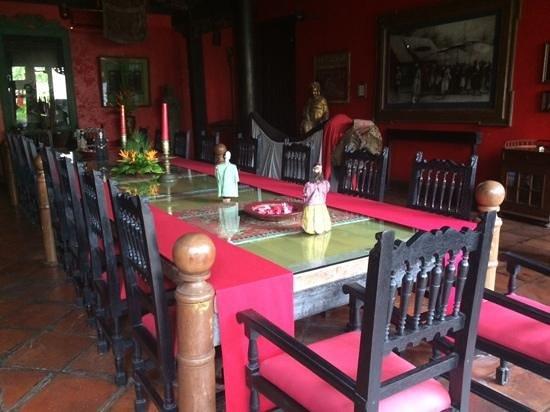 Hotel Tugu Bali : The Dining Hall