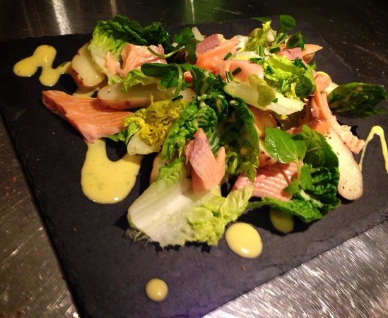 The Wild Trapeze: Smoked Trout Salad