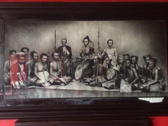 Hotel Tugu Bali : Art on display