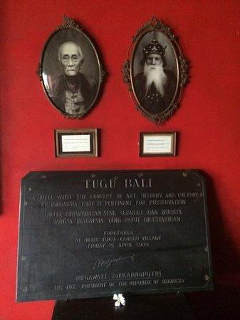 Hotel Tugu Bali : The story of Tugu, Bali