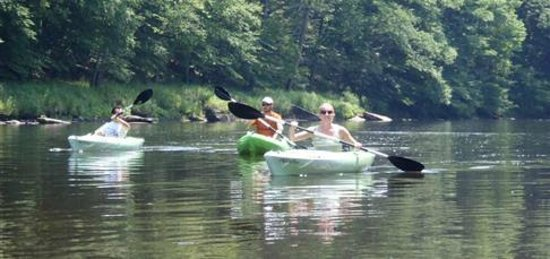 Ridgway, PA: Clarion River Kayaking at Country Squirrel Outfitters