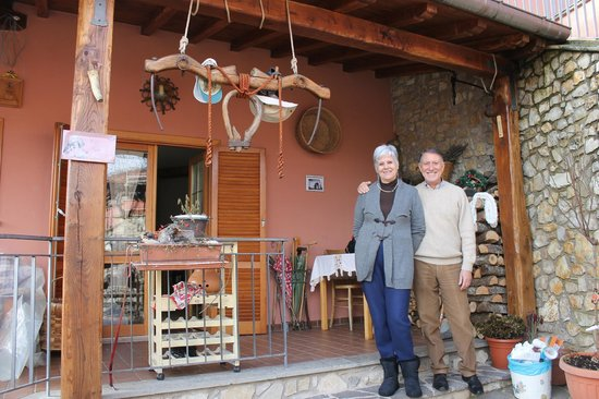 B&B Osteria del Tempo Perso: lovely people
