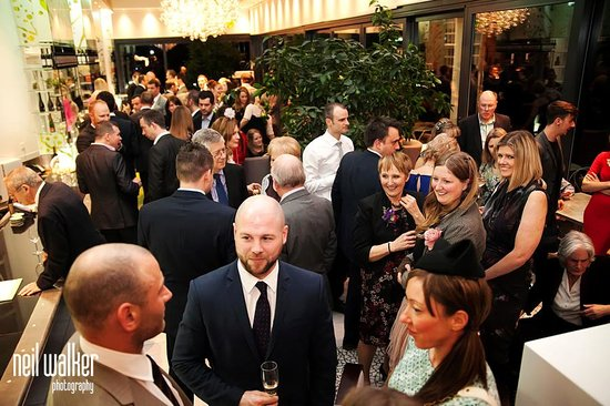 Hotel du Vin Wimbledon: Wedding party in the Orangery