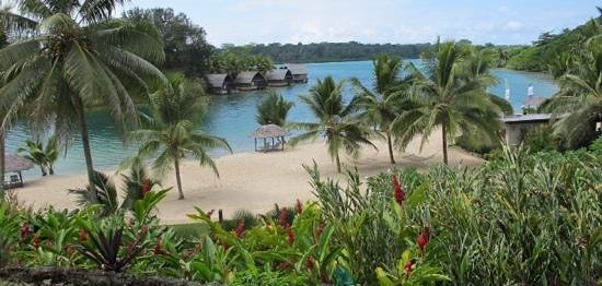 Holiday Inn Resort Vanuatu : View from the Verandah Restaurant
