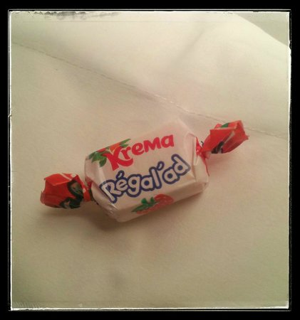 Hotel Le Marcel : Miam un bonbon !