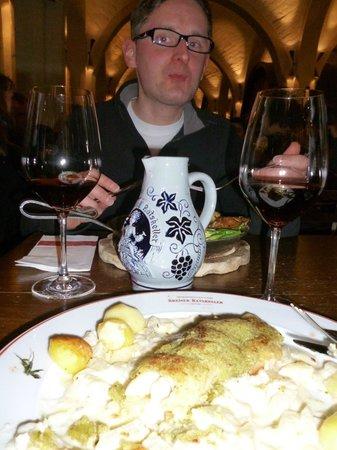 Bremer Ratskeller: Leckeres Essen