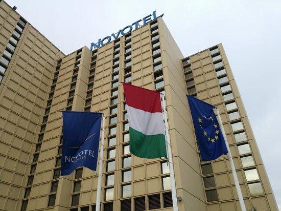 Novotel Budapest City : ホテル外観です。