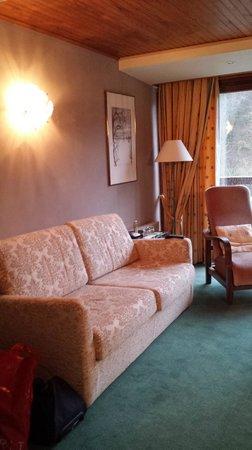 La Claire Fontaine: Salon confortable