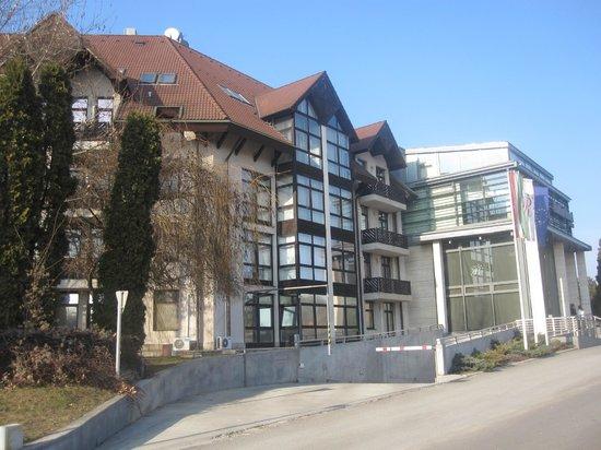 Rubin Wellness & Conference Hotel Budapest : hotel