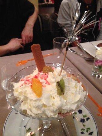 Villa Verdi: Les glaces