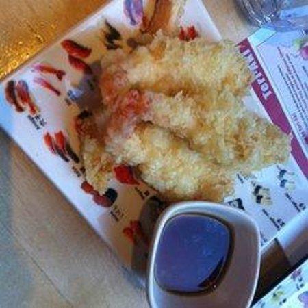 Teri-Aki: Lovely prawns.
