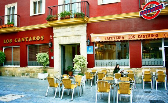 Hotel Los Cantaros: Terraza