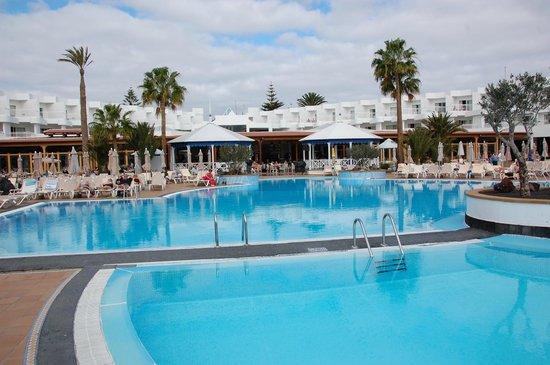 ClubHotel Riu Paraiso Lanzarote Resort: La piccola piscina