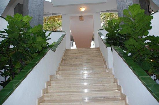 ClubHotel Riu Paraiso Lanzarote Resort: Scale all'interno dell'Hotel