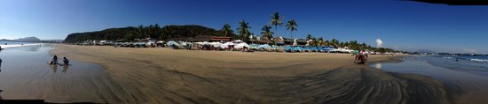 El Tablao : Panoramic From The Beach