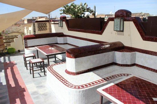 Riad Noos Noos: Terrace