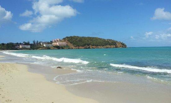 Coconut Beach Club: view from far end of the beach...2