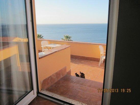 Hotel Pedraladda: Bella vista sul mare!