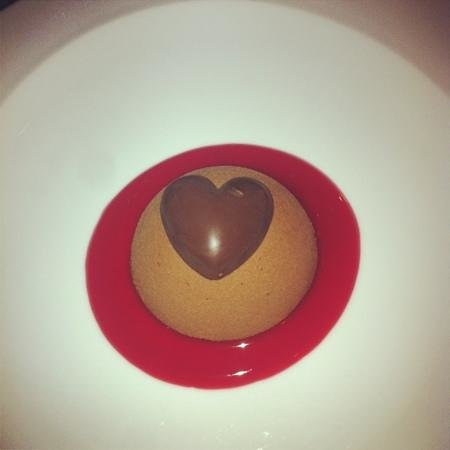 L'Avenue : dessert St. valentin