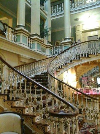 Royal Hotel Scarborough : main stair case