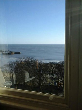 Royal Hotel Scarborough : one view from room 523
