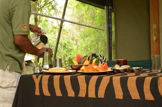 Kulu Safaris Sri Lanka: Dining