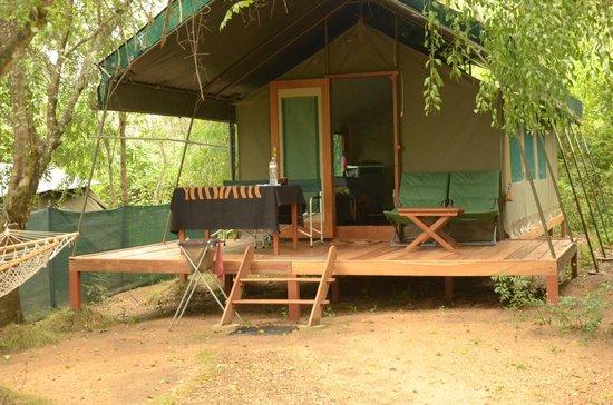 Kulu Safaris Sri Lanka: tent