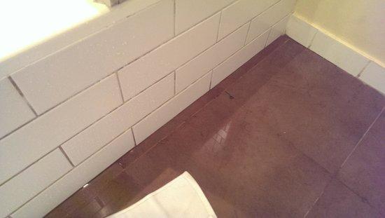 Cove Rotana Resort Ras Al Khaimah: Bathroom leak