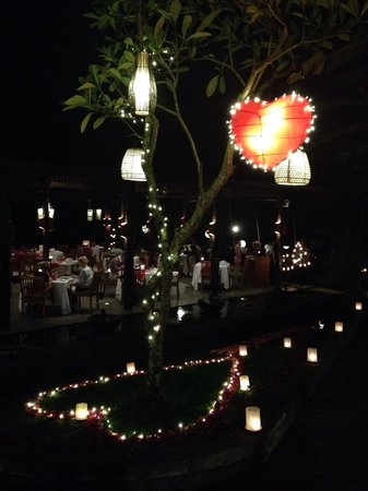 The Samaya Bali Ubud: Valentine's day at Swept Away