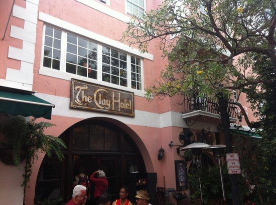 The Clay Hotel : Main entrance